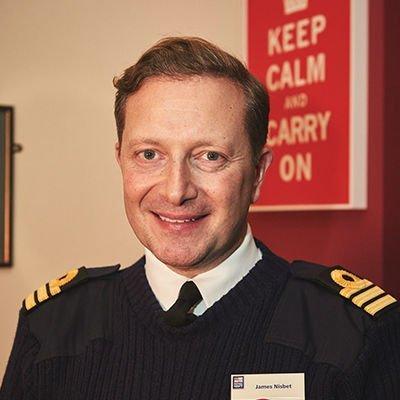 Commander James Nisbet VR RNR